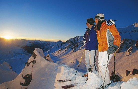 Austria: Sonnenuntergang  St.Anton am Arlberg
