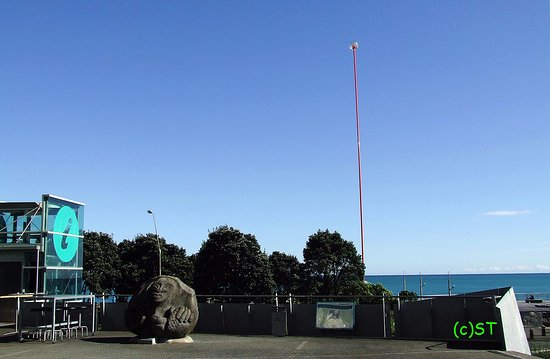New Plymouth, New Zealand: I Site and Wind Wand
