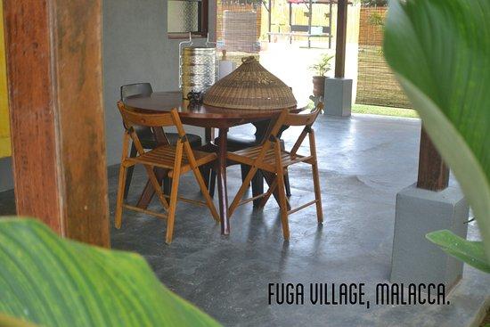 Masjid Tanah, Malaysia: The Villa - outdoor dining