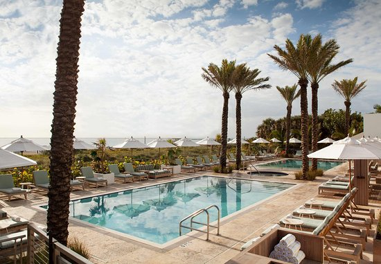Marriott Stanton South Beach: Outdoor Pool