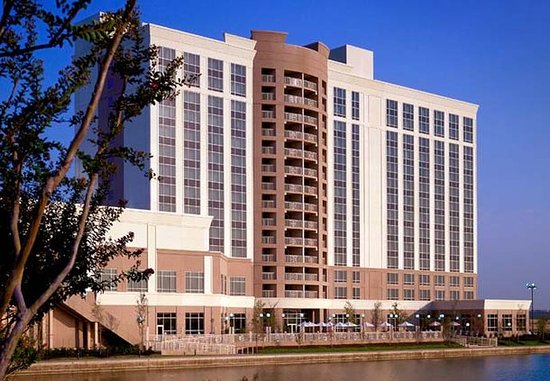 Dallas Marriott Las Colinas: Lakeside Exterior