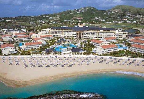 Marriott's St. Kitts Beach Club : Aerial Resort