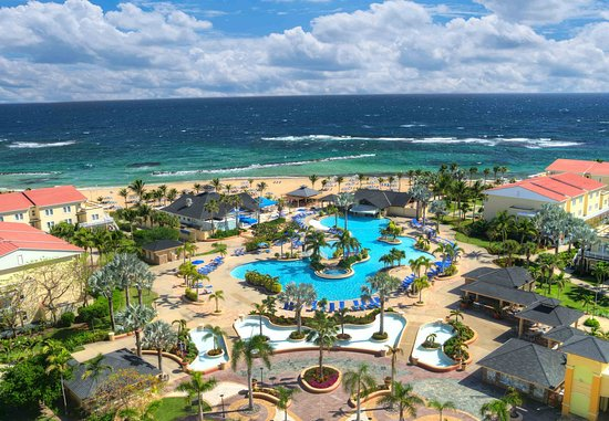 Marriott's St. Kitts Beach Club : Resort Aerial View