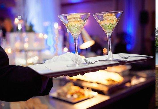Indianapolis Marriott North : Event Catering – Ceviche Martini