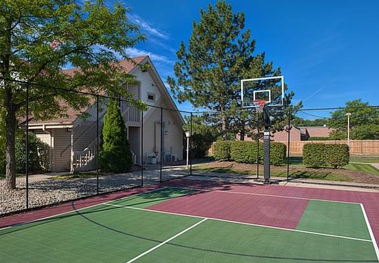 Residence Inn Detroit Troy/Madison Heights: Sport Court