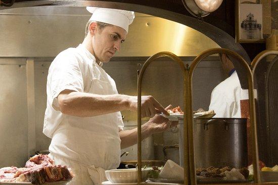 Del Fagioli: cucina a vista