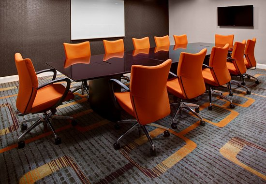 Residence Inn Atlanta Midtown/Peachtree at 17th: 17th Street Meeting Room – Boardroom Setup