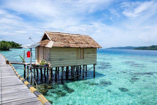Malenge Island, Indonesia: Excursion village Bajau