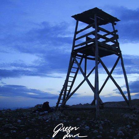 Cervara di Roma, Italië: Torre di avvistamento nei pressi della riserva, fotografia del gruppo GreenInk