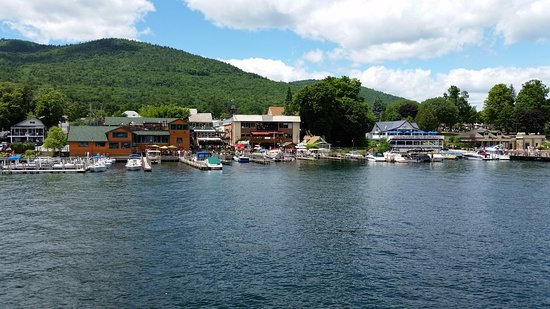Lake George RV Park: View from the lake cruise. Lots do to.