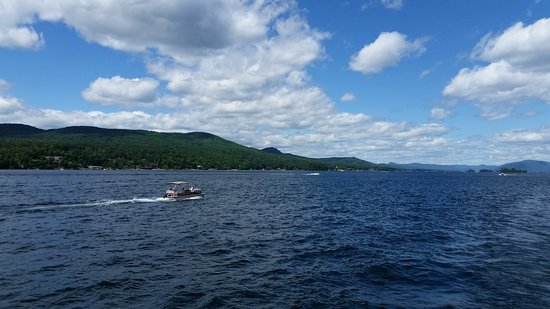 Lake George RV Park: Lake George is massive and beautiful.