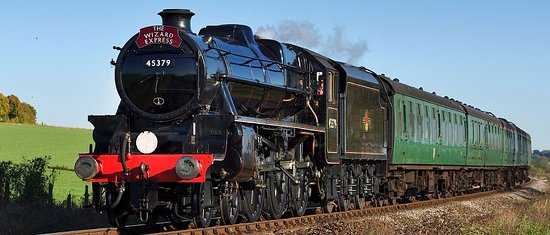 Alton, UK: Wizard Express (weekend over Halloween)