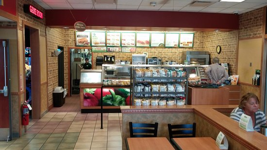 Subway, Love's convenience complex, Lenoir City, TN, Oct 2016