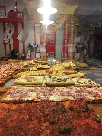 Vaiano, Italie : La varietà delle pizze