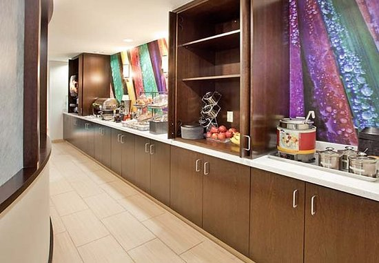 SpringHill Suites Houston Brookhollow: Breakfast Buffet