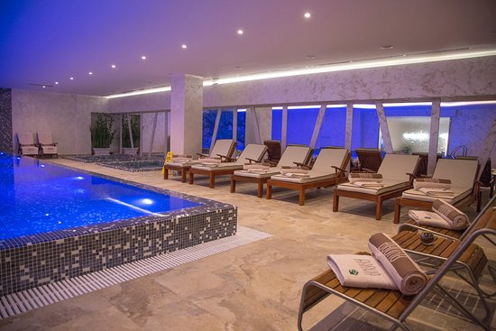 Podgorica, Montenegro: Swimming pool - Banya Wellness & Spa