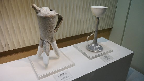 Guanghan, China: Some exhibition items in Sanxingdui museum