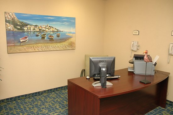 "Delmar, MD: Our guests have an office away from ""The office""."