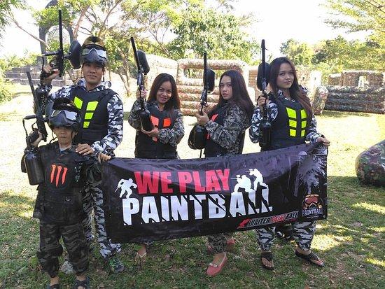 Gong Bali Paintball