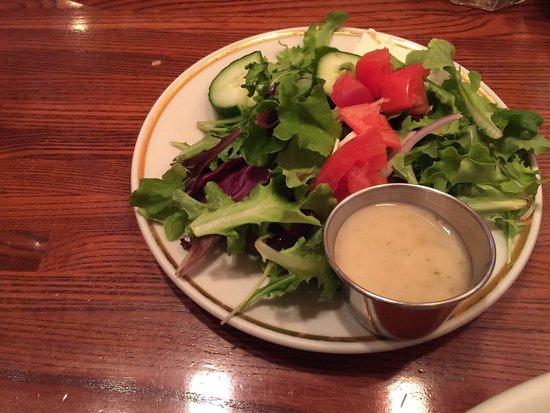 Sun Prairie, Висконсин: small salad