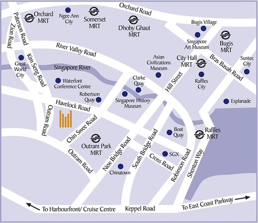 Hotel Map and Directions Picture of Copthorne Kings Hotel