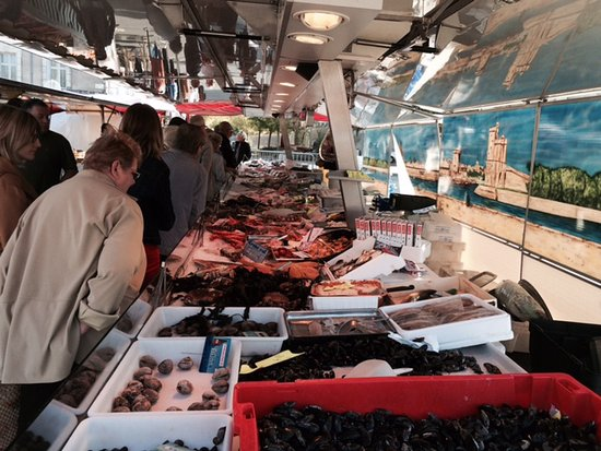 Buzancais, France: Saturday market