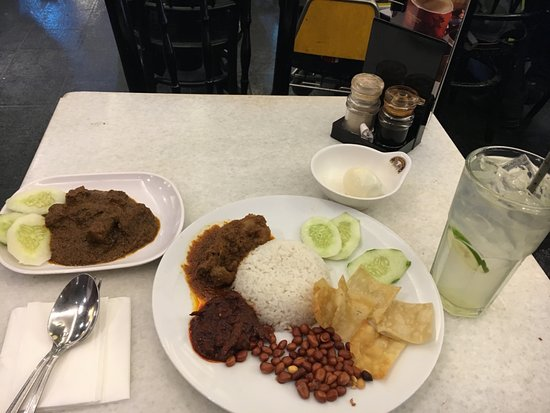 old town white coffee nasi lemak
