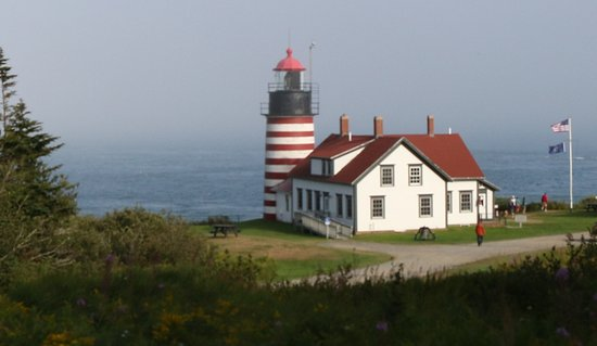 Lubec, ME: West Quoddy Head Lighthouse