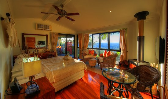 At Remingtons Lodge & Private Cottages: Shalalah cabin for couples
