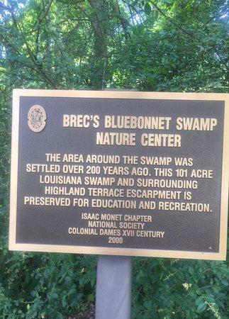 Bluebonnet Nature Center Baton Rouge La