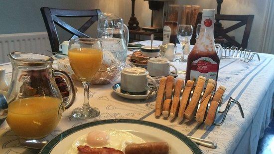 Annagh House: Colazione bellissima!!