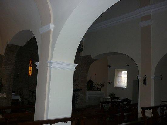 Santuario Madonna della Pieve: il semplice interno