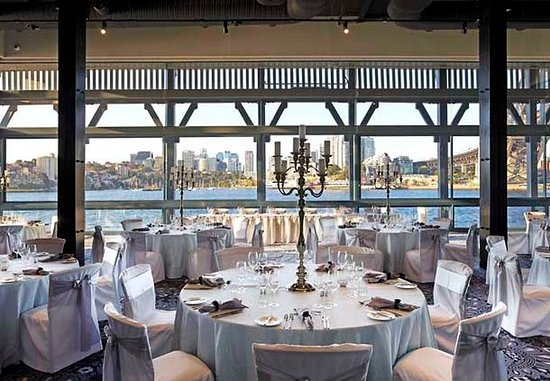 Pier One Sydney Harbour, Autograph Collection: Water at Pier One – Wedding Setup
