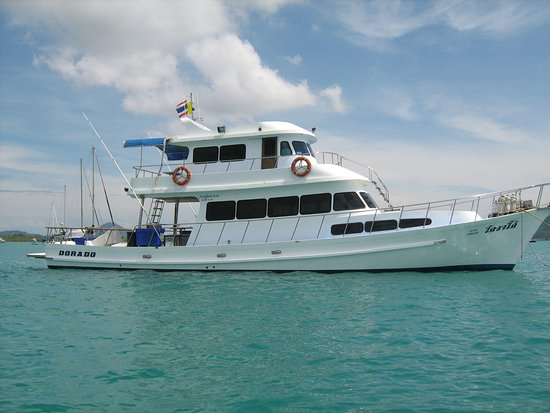 Rawai, Thailand: Dorado is the perfect yacht for fishing and diving trips around Phuket.