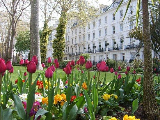 Chrysos Hotel: Gardens