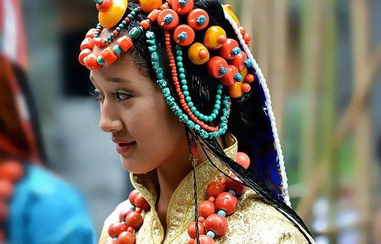 Tibetan girls photo