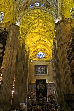 Interior de la giralda fotograf a de catedral de sevilla - Catedral de sevilla interior ...