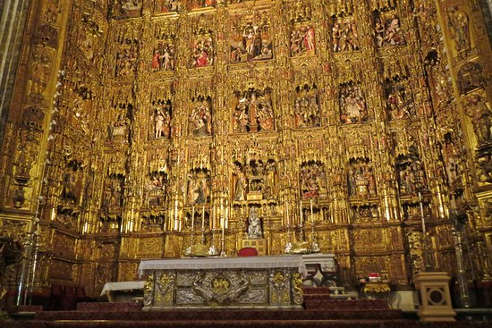 Foto de catedral de sevilla sevilla interior de la giralda tripadvisor - Catedral de sevilla interior ...