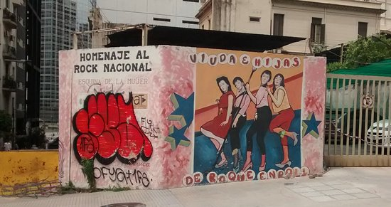 """Mural """"Esquina de la Mujer"""""""