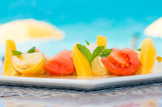 Alexandra Resort: Asu on the Beach - Mango Caprese Salad