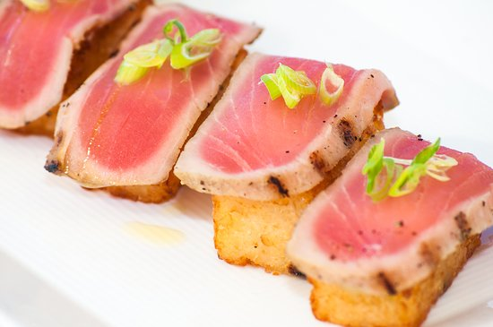 Alexandra Resort: Asu on the Beach - Tuna Sashimi