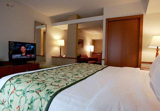 South Boston, VA: One-Bedroom Suite Sleeping Area