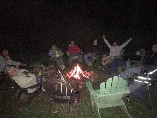 Crumpler, NC: one of the firepits