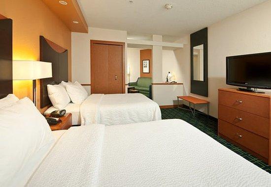 Exeter, Nueva Hampshire: Double/Double Suite – Sleeping Area