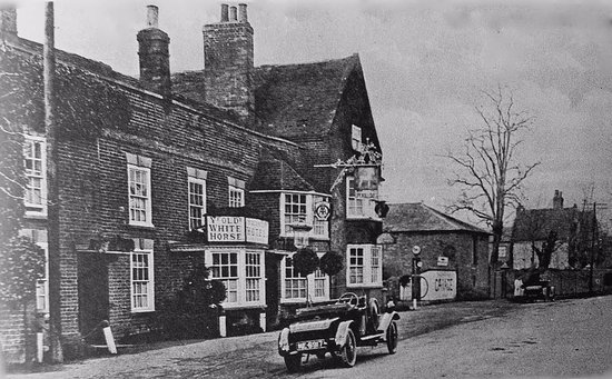 The White Horse: olden days