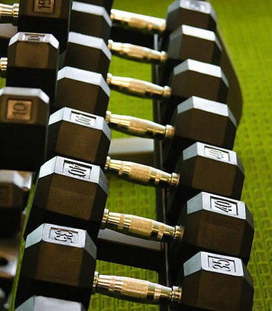 Fairfield Inn & Suites Muskogee: Fitness Center Weights