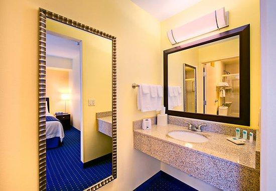 Bathroom Vanities El Paso suite bathroom vanity - picture of springhill suites el paso, el