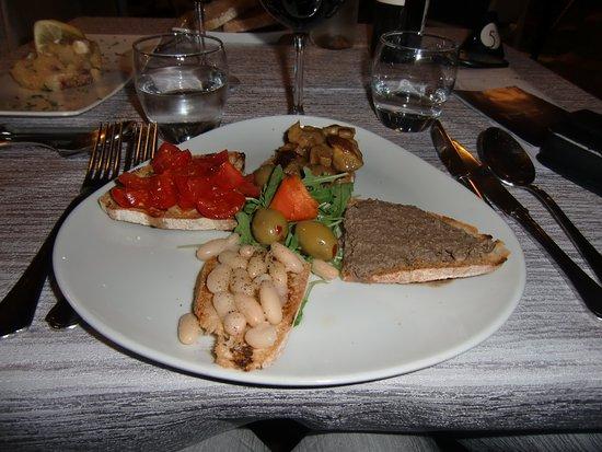 Loro Ciuffenna, Italia: un plat