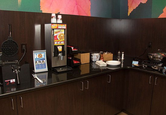 Fairfield Inn & Suites Watervliet St. Joseph: Breakfast Area