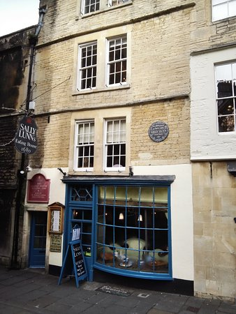Henrietta House: One of many quirky tea rooms and restaurants in Bath